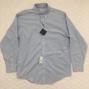Brooks Brothers Shirt NWT Light Blue Medium